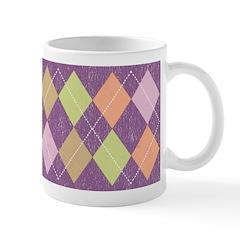 Vintage Argyll Ceramic Coffee Mug