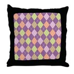 Vintage Argyll Throw Pillow