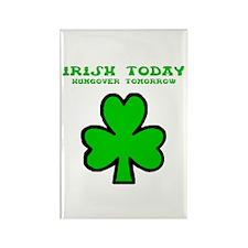 Irish today Rectangle Magnet