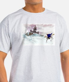 Winter Castle Ash Grey T-Shirt