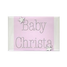 Funny Christa Rectangle Magnet