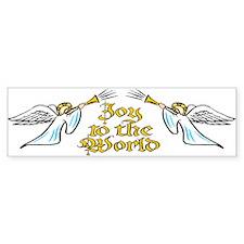 Joy to the world Bumper Bumper Sticker