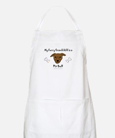 pit bull gifts BBQ Apron