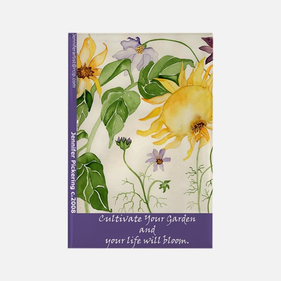 Cultivate Your Garden Rectangle Magnet (10 pack)