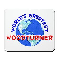 World's Greatest Woodt.. (E) Mousepad