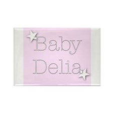 Cool Delia Rectangle Magnet