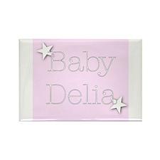 Funny Delia Rectangle Magnet