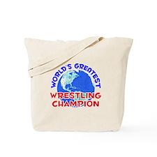 World's Greatest Wrest.. (E) Tote Bag