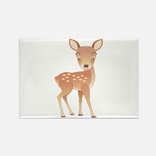 Deer Rectangle Magnet