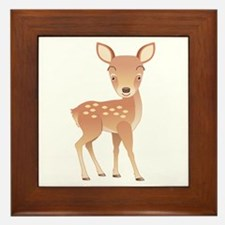 Deer Framed Tile