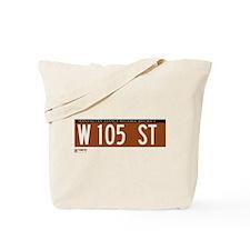 105th Street in NY Tote Bag