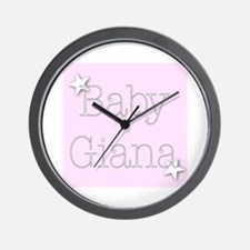 Cute Giana Wall Clock