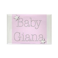 Cute Giana Rectangle Magnet