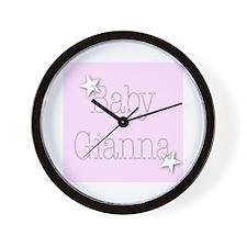 Unique Gianna Wall Clock