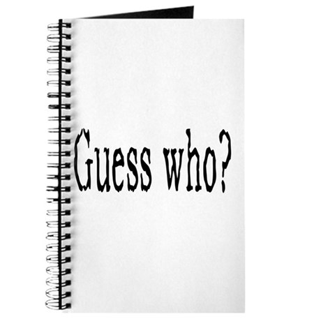 Guess Who? Journal