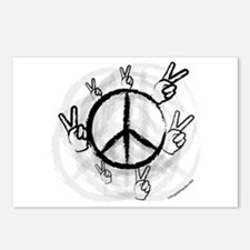 Peace Symbol & Sign Postcards (Package of 8)