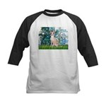 Lilies / Ital Greyhound Kids Baseball Jersey