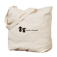 bunny whipped Tote Bag
