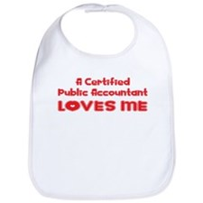 A Certified Public Accountant Loves Me Bib