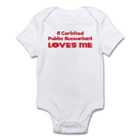 A Certified Public Accountant Loves Me Infant Body