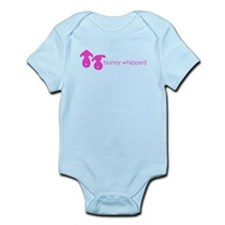 bunny whipped pink Infant Bodysuit