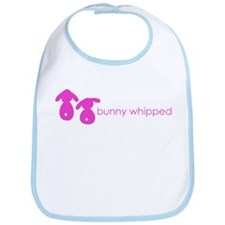 bunny whipped pink Bib