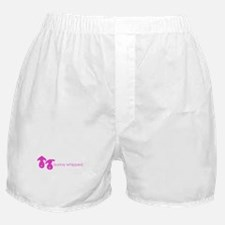 bunny whipped pink Boxer Shorts
