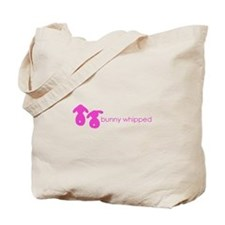 bunny whipped pink Tote Bag