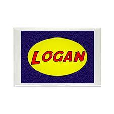 Logan Rectangle Magnet