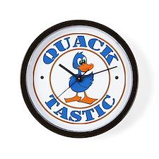 Quacktastic Wall Clock