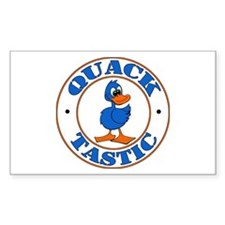 Quacktastic Rectangle Decal