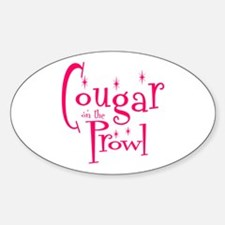 Cougar Oval Decal