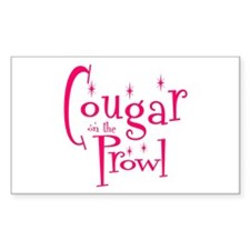 Cougar Rectangle Decal