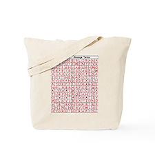 Massage Word Find Tote Bag