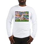 Lilies / Ital Greyhound Long Sleeve T-Shirt