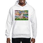 Lilies / Ital Greyhound Hooded Sweatshirt