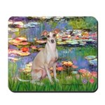 Lilies / Ital Greyhound Mousepad