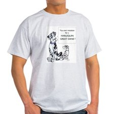 N Mistaken Great Dane Ash Grey T-Shirt