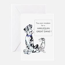 N Mistaken Great Dane Cards (10p)