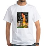 Midsummer's / Ital Greyhound White T-Shirt