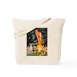 Midsummer's / Ital Greyhound Tote Bag