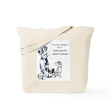 N Mistaken Great Dane Tote Bag