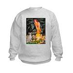 Midsummer's / Ital Greyhound Kids Sweatshirt