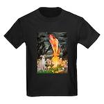 Midsummer's / Ital Greyhound Kids Dark T-Shirt