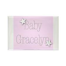 Cute Gracelyn Rectangle Magnet