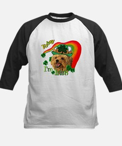 St. Patty Yorkie Kids Baseball Jersey