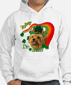 St. Patty Yorkie Jumper Hoody