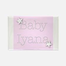 Cute Iyana Rectangle Magnet