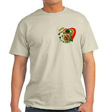 St. Patty Yorkie T-Shirt