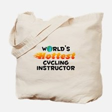 World's Hottest Cycli.. (C) Tote Bag